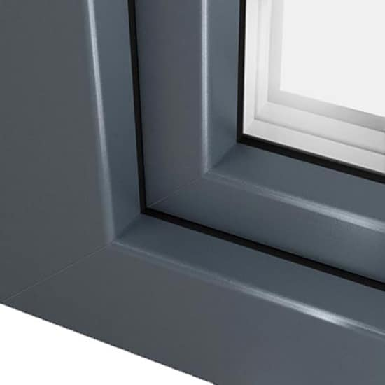 Pin ral 7012 on pinterest - Fenetre pvc couleur gris anthracite ...