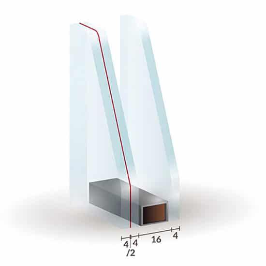 Vitrage feuillet verre feuillet anti effraction fen tre for Fenetre verre securit