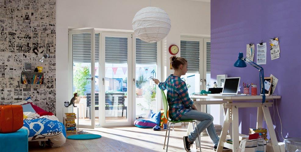 t l commande volet roulant 5 ou 15 volets simultan ment. Black Bedroom Furniture Sets. Home Design Ideas