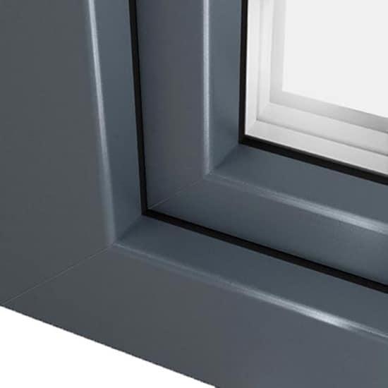 Fen tre pvc gris basalte ral 7012 couleur fen tre l gante for Fenetre ral 7016