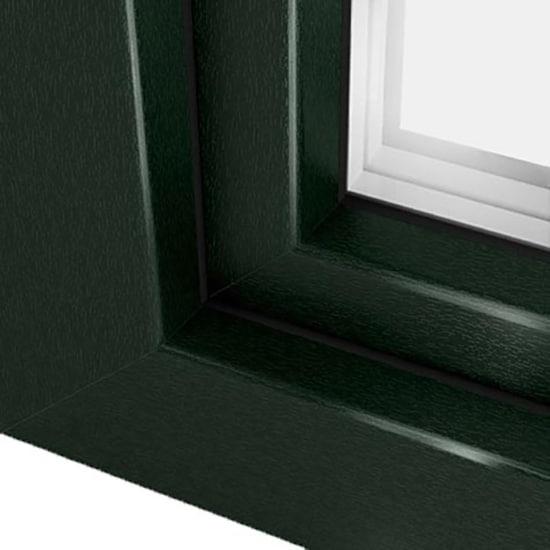 Fen tre pvc vert sapin ral 6009 une couleur harmonieuse for Menuiserie pvc couleur