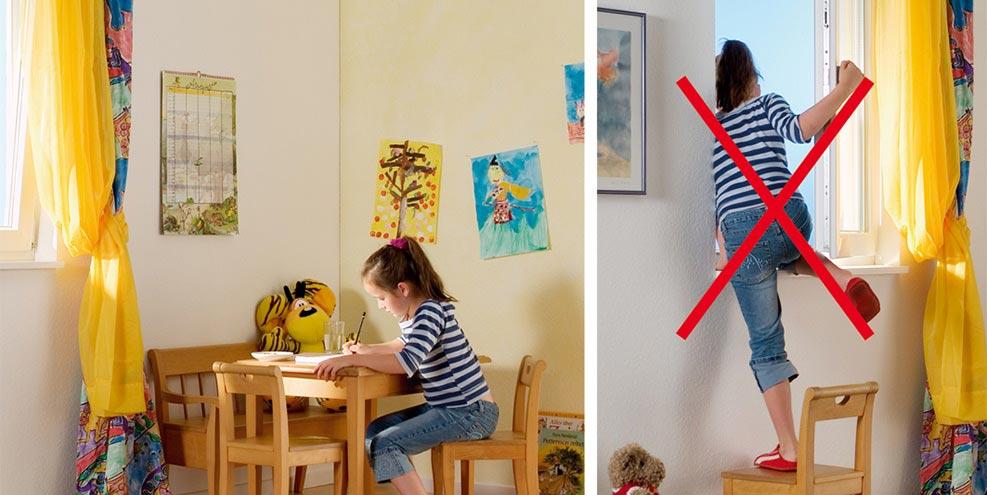poign e bouton poussoir s curit enfant pour fen tre. Black Bedroom Furniture Sets. Home Design Ideas